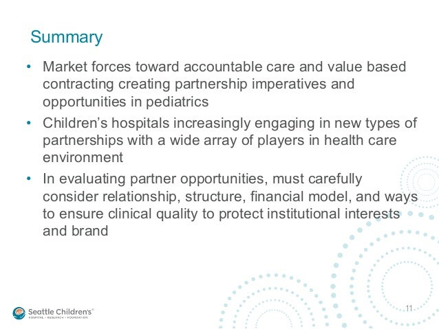 A Winning Combination: Pediatric Partnerships That Work