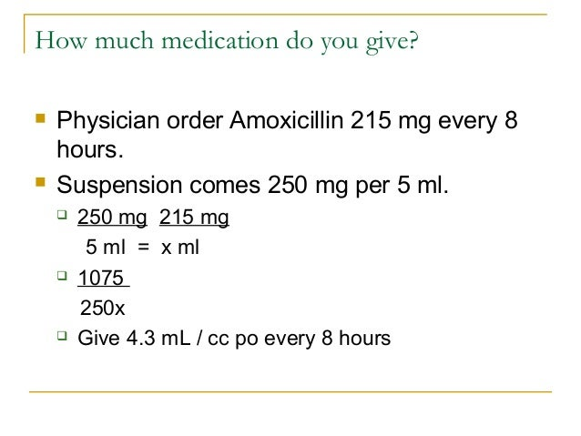 writing amoxicillin prescription for kids