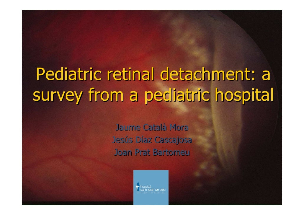 Pediatric Retina