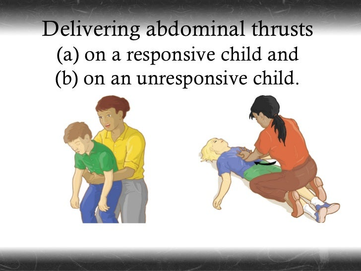 Abdominal thrust meaning for sexual harassment