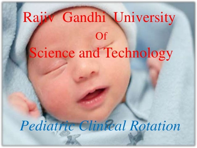 pediatric clinical rotation