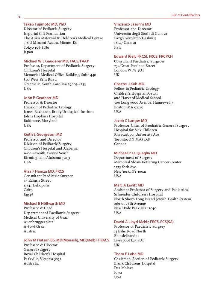 List of Contributors                                                                                                     X...