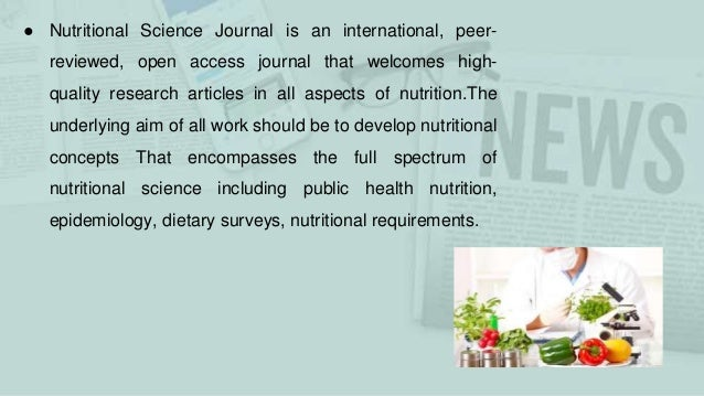 Journal of Nutrition and Dietetics Research