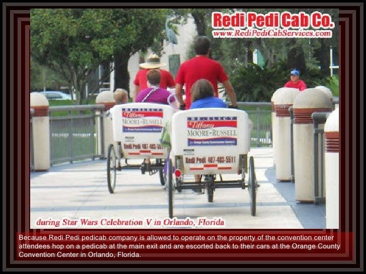 Orange county convention center pedicab company for Bureau county metro center