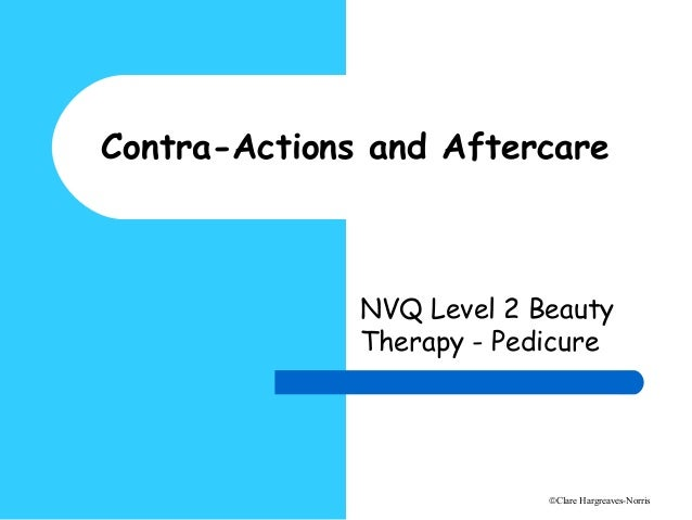 Pedicure Contra Actions And Aftercare
