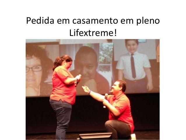 Pedida em casamento em pleno Lifextreme!