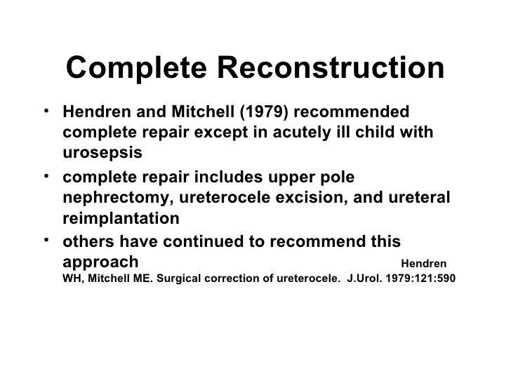 Pedi Gu Review Ureteral Anomalies I