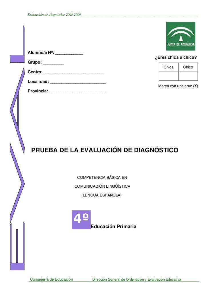 PED Lengua castellana 08-09 primaria cuadernillo 1