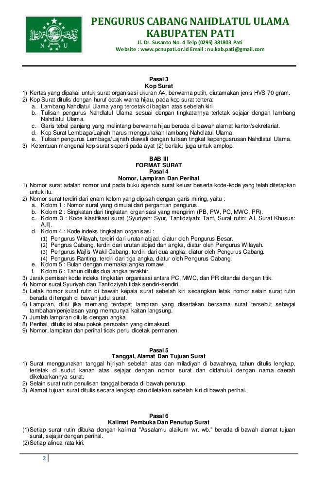 Contoh Surat Mandat Organisasi Suratmenyurat Net Bertemuco