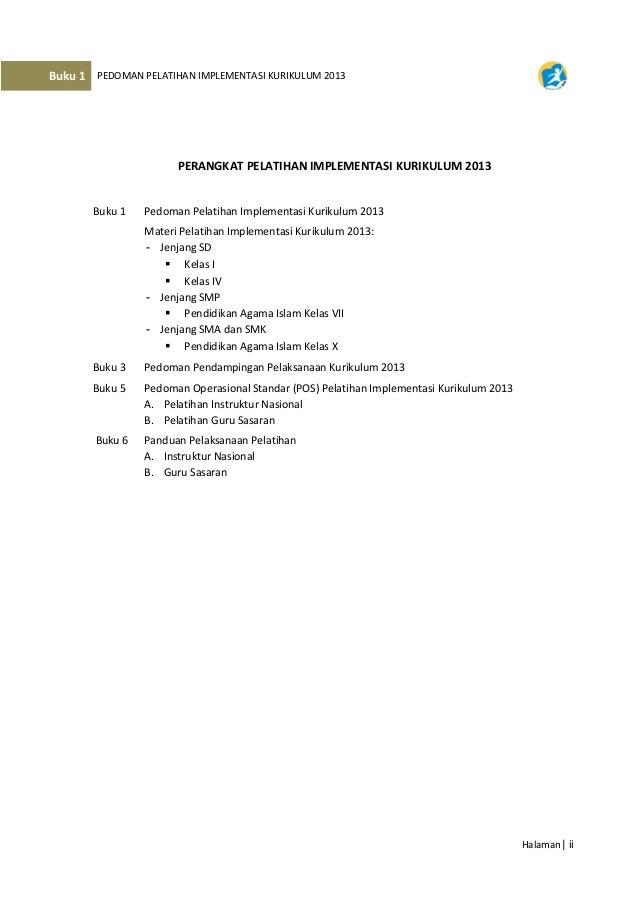 Pedoman Diklat Kurikulum 20 06 2013