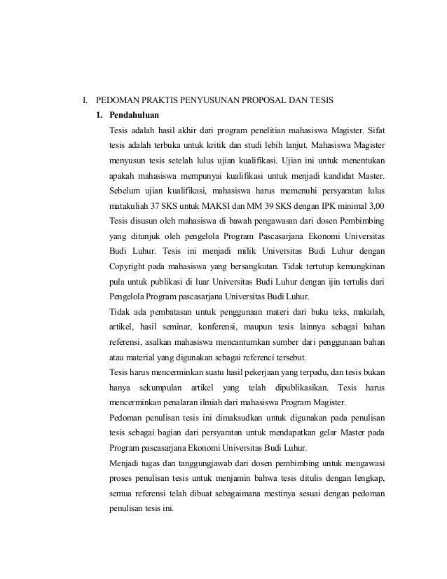 Contoh Proposal Tesis Magister Komputer