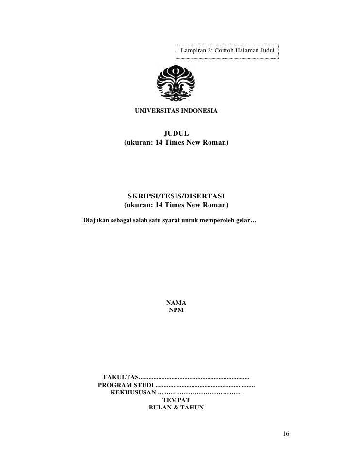 Skripsi, Tesis dan Disertasi