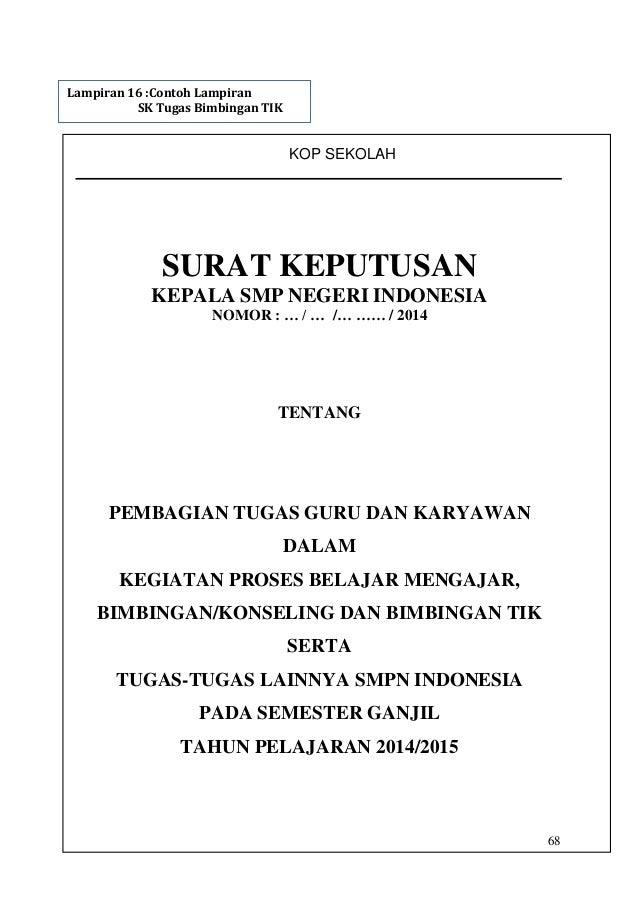 Kop Surat Sekolah Smp - Contoh Kop Surat