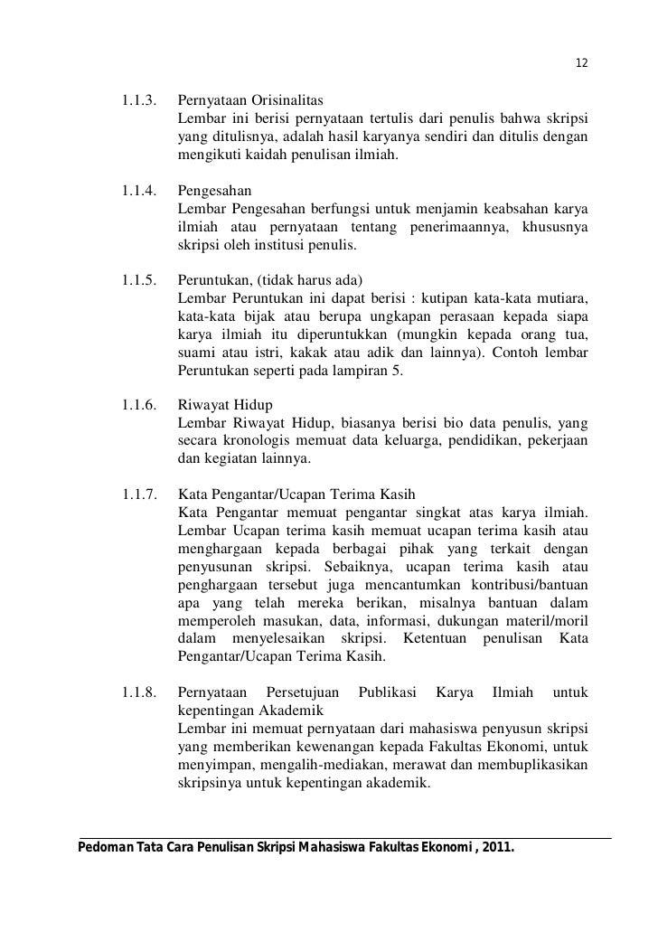 Contoh Karya Ilmiah Jurusan Manajemen Feed News Indonesia