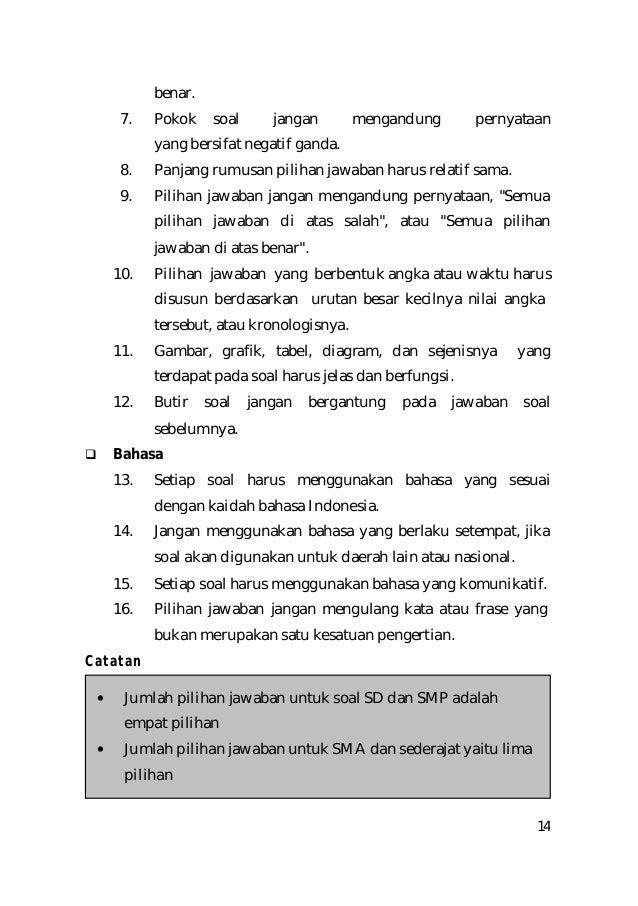 Contoh Soal Benar Salah Sd Terbaru 2019