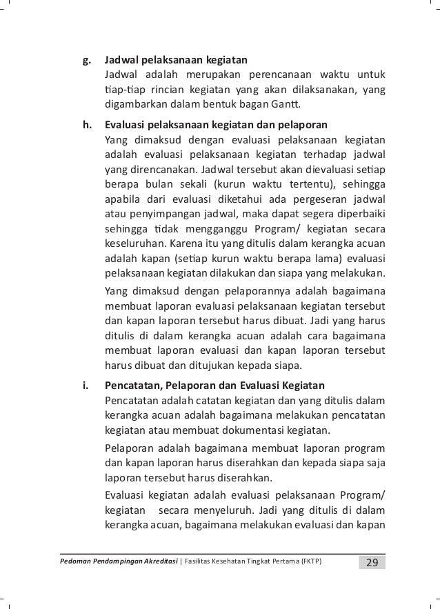 31Pedoman Pendampingan Akreditasi | Fasilitas Kesehatan Tingkat Pertama (FKTP) 5. Beberapa Is lah Prosedur yang sering dig...