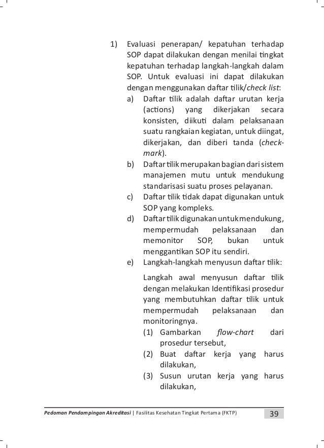 41Pedoman Pendampingan Akreditasi | Fasilitas Kesehatan Tingkat Pertama (FKTP) H. Prosedur Pengendalian Dokumen di FKTP Pr...