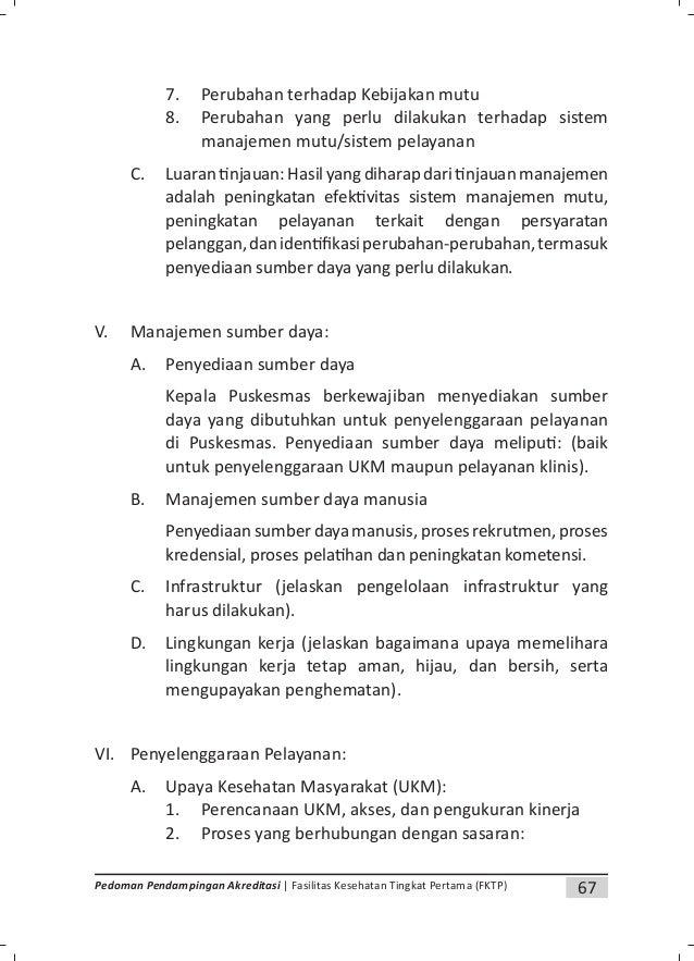 70 Pedoman Pendampingan Akreditasi | Fasilitas Kesehatan Tingkat Pertama (FKTP) Lampiran 4. Contoh SPO/SOP LOGO PEMDA Inje...