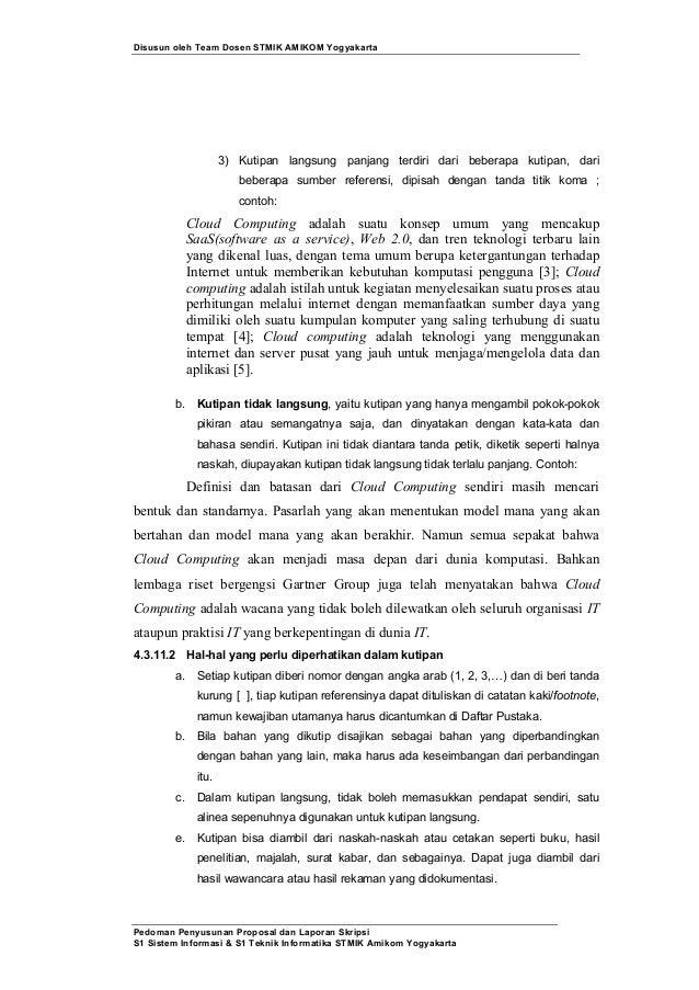 Contoh Proposal Pengajuan Judul Tesis