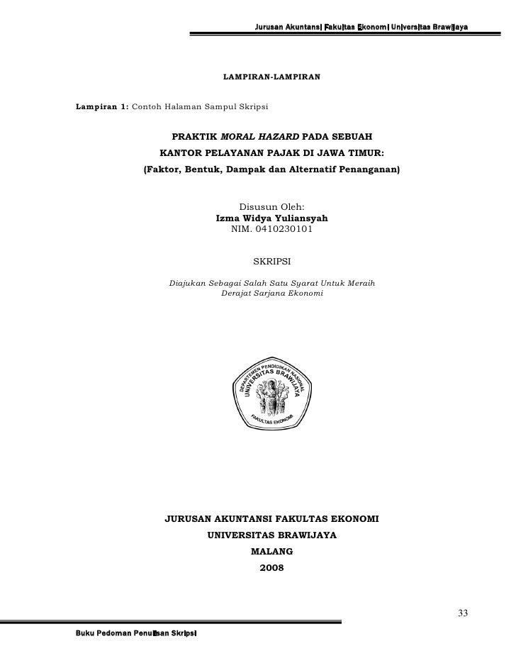Contoh Skripsi Ekonomi Pdf Contoh Soal Dan Materi Pelajaran 10