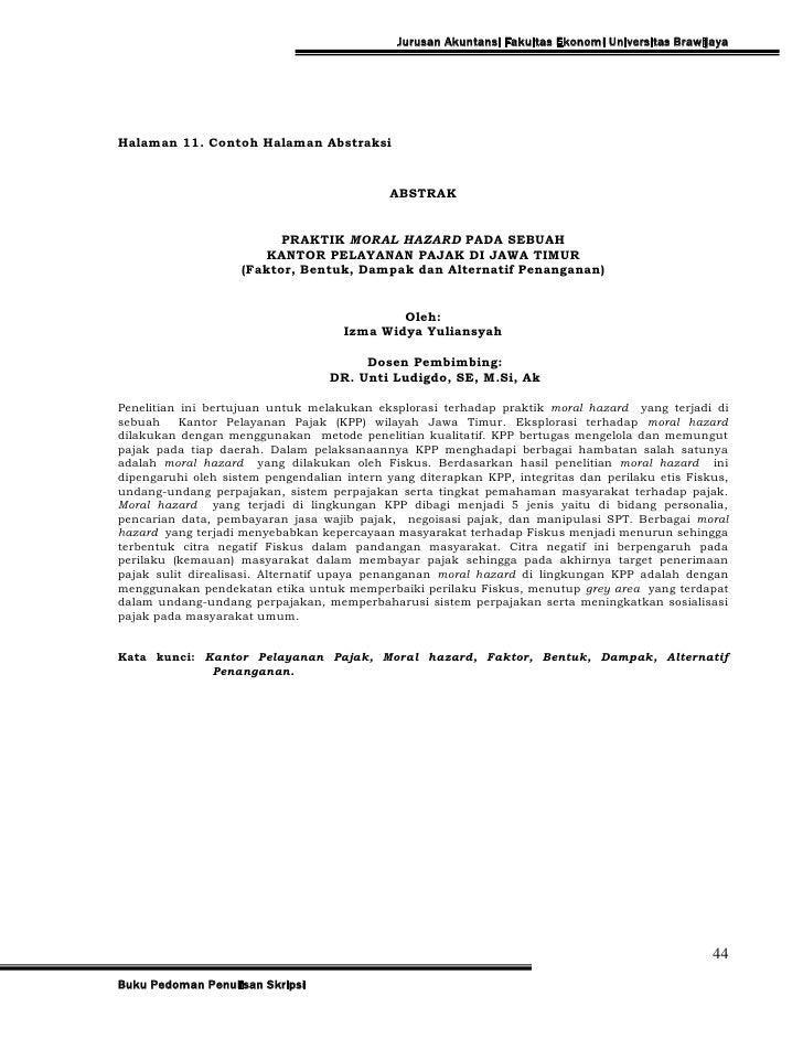 Judul Proposal Tesis Magister Hukum