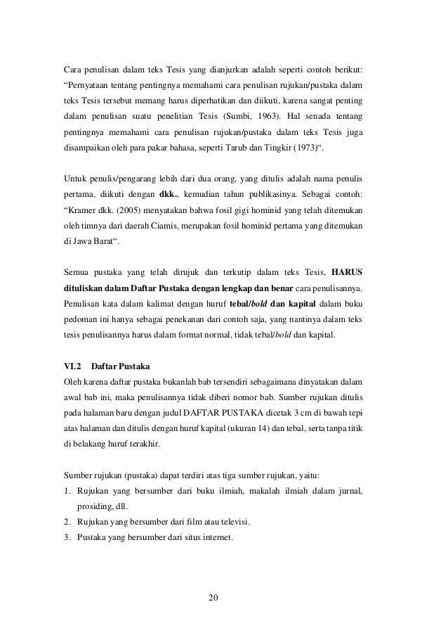 Pedoman Tesis Magister Nsn Sps 15 April2016