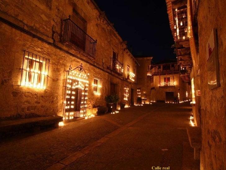 Pedraza en la noche de las velas - La olma de pedraza ...