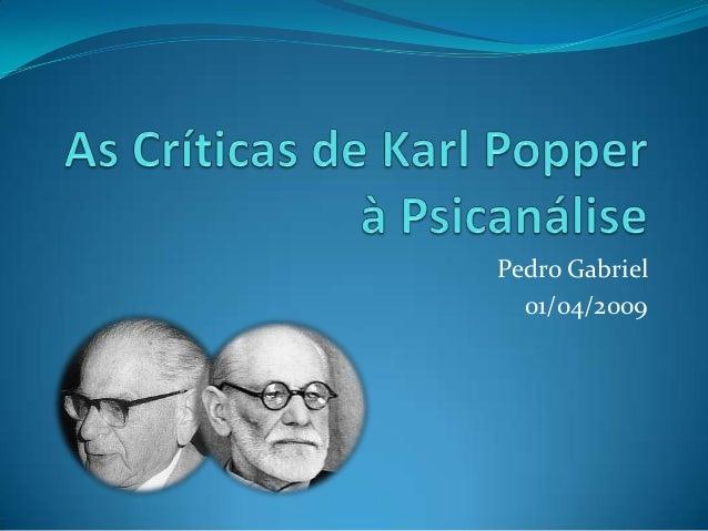 Pedro Gabriel  01/04/2009