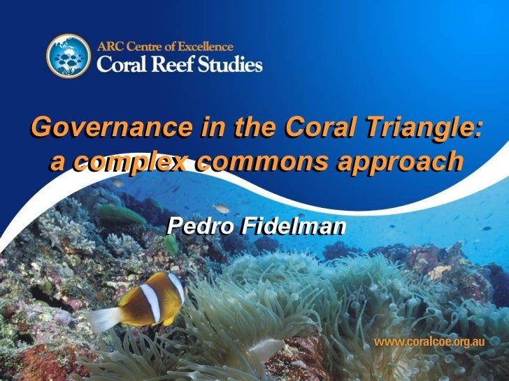Environmental Governance in the Coral Triangle: Towards a Complex Commons Approach