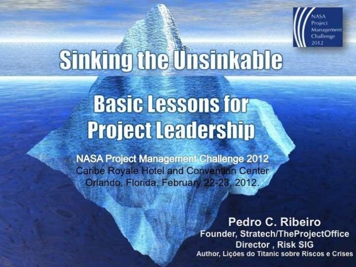 Pedro ribeiro-sinking the unsinkable