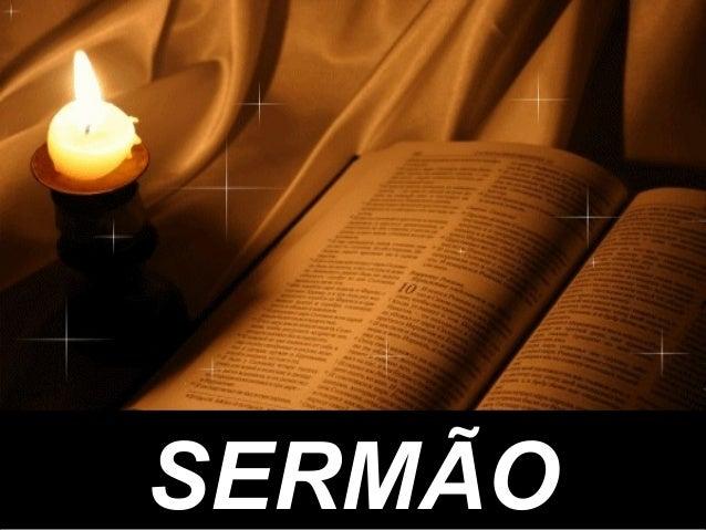 SERMÃOSERMÃO