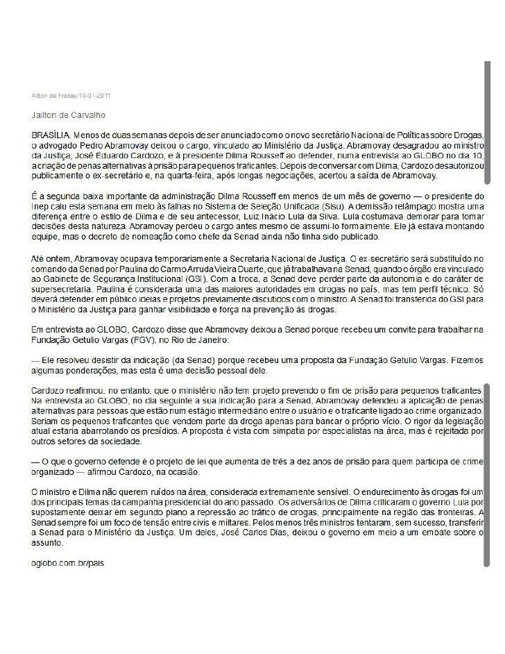 Pedro Abramovay deixa governo dilma