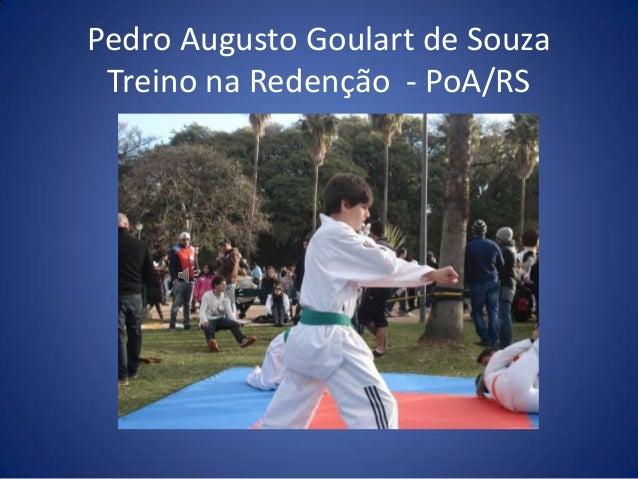 Pedro Augusto Goulart de Souza Treino na Redenção - PoA/RS