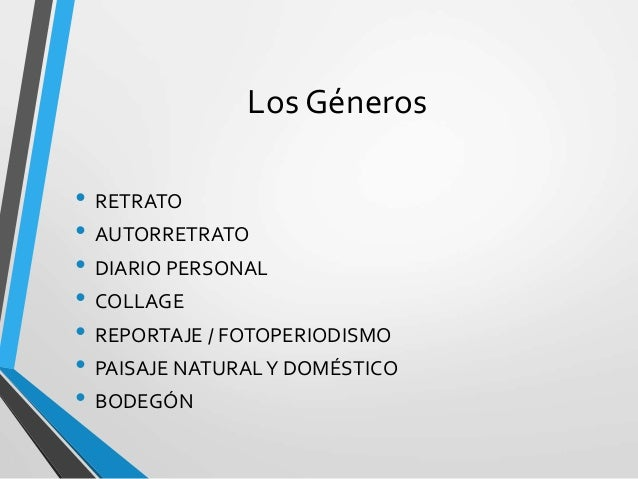 GÉNEROS PERIODÍSTICOS DEL FOTOPERIODISMO Slide 3