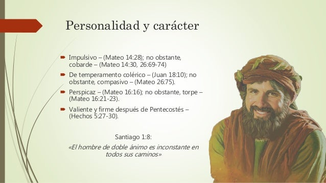 Pedro el apóstol impetuoso Slide 2