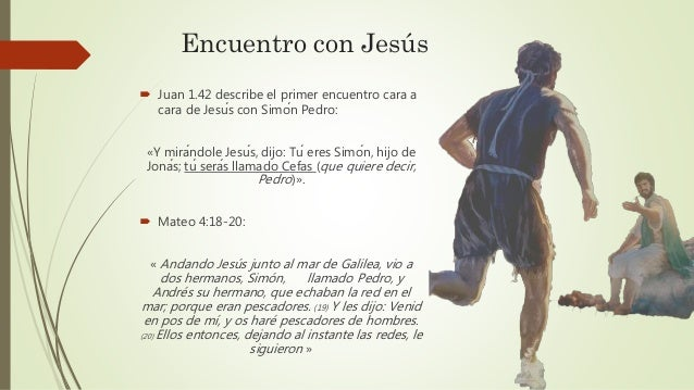 Pedro el apóstol impetuoso Slide 3