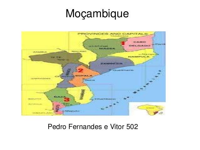 Moçambique Pedro Fernandes e Vitor 502