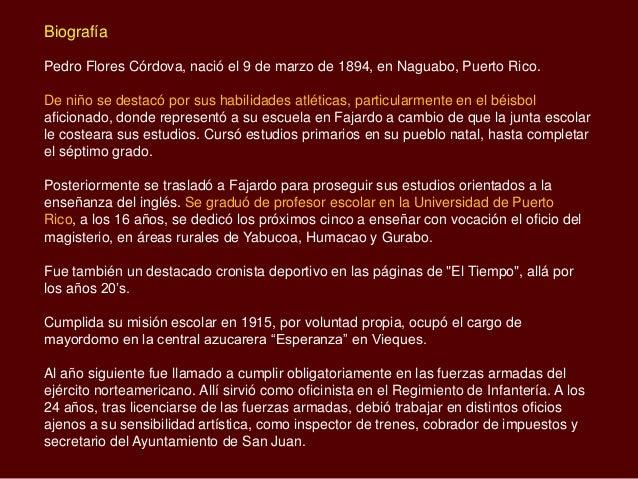 Don pedro flores biografia - Pedro piqueras biografia ...