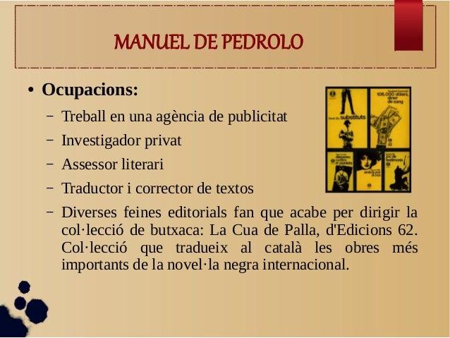 Manuel de Pedrolo  Slide 3
