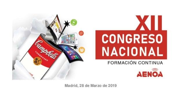 Madrid, 28 de Marzo de 2019