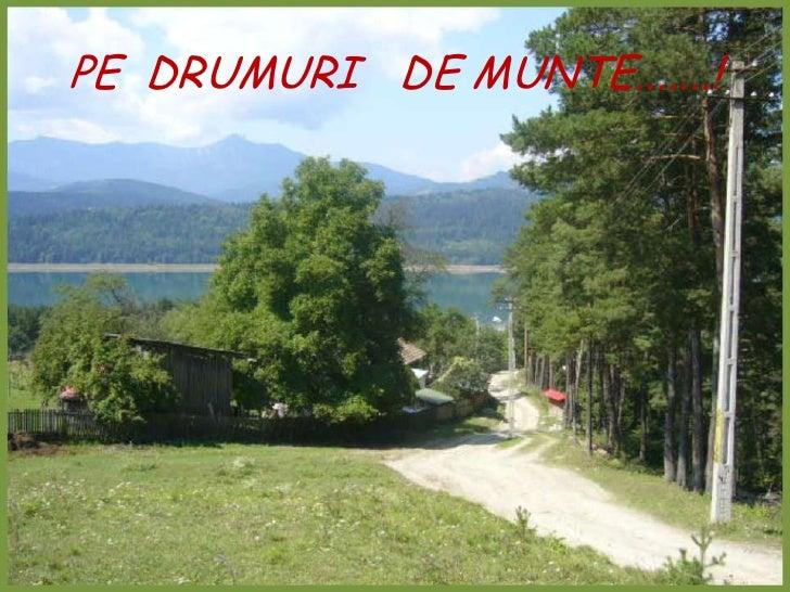 PE  DRUMURI   DE MUNTE.......!<br />
