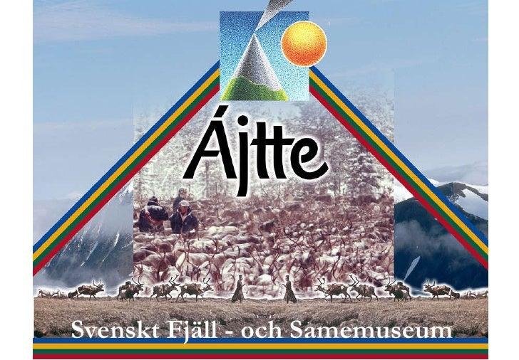 Svenskt Fjäll - och Samemuseum