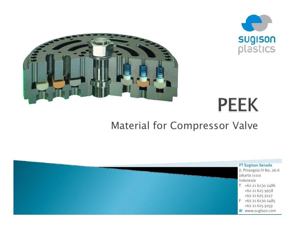 Material for Compressor Valve