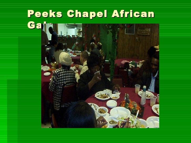 Peeks Chapel African Gala