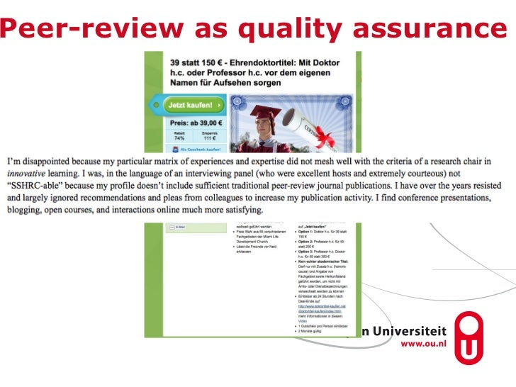 peer review why does it matter for your academic career