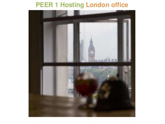 PEER 1 Hosting London office