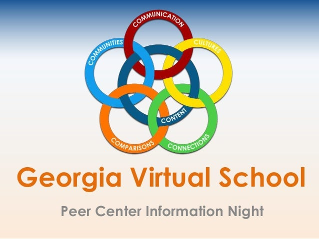 Georgia Virtual School Peer Center Information Night