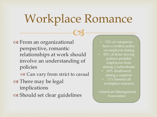 Guidelines For Dating In The Workplace
