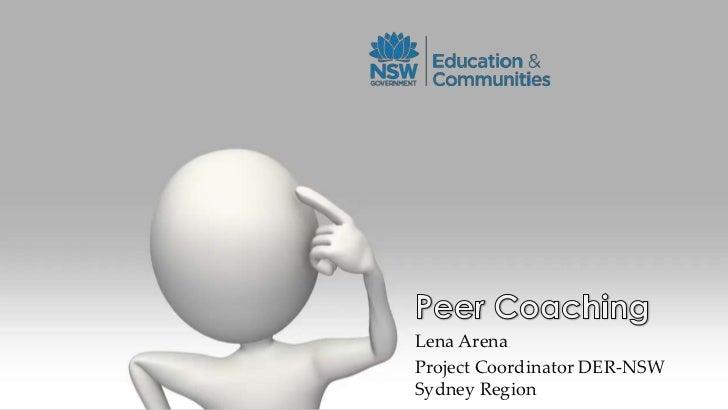 Lena ArenaProject Coordinator DER-NSWSydney Region
