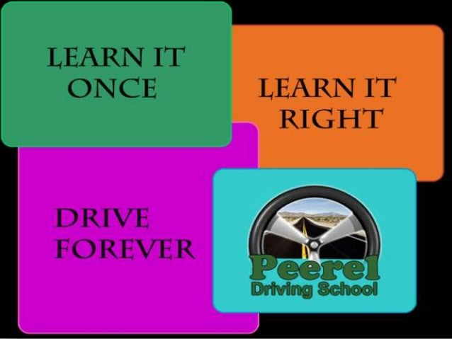 Peerel Driving School is the HIGH TECH Driving School that everyone is talking about. ... We are  operating as the BEST Dr...